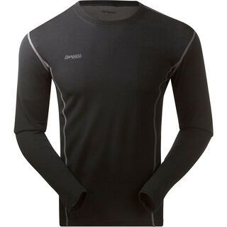 Bergans Akeleie Shirt, black - Funktionsshirt