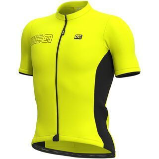Ale Color Block Jersey, fluo yellow - Radtrikot
