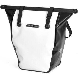 Ortlieb Bike-Shopper, weiß-schwarz - Fahrradtasche