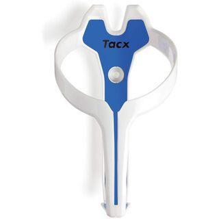 Tacx Foxy, weiß/blau - Flaschenhalter