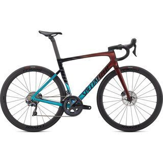 Specialized Tarmac SL7 Expert turquoise/red gold pearl/black 2021