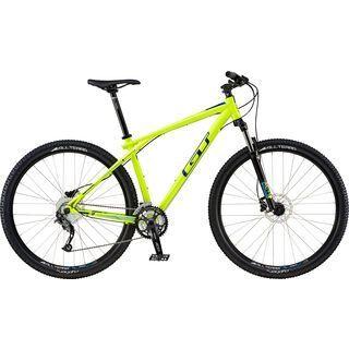 GT Karakoram Sport 29 2016, neon yellow/navy - Mountainbike