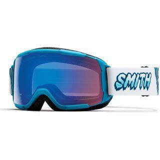 Smith Grom, cyan yeti/Lens: chromapop storm rose flash - Skibrille