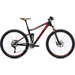 Cube Stereo 120 HPC SL 27.5 2017, carbon´n´red - Mountainbike