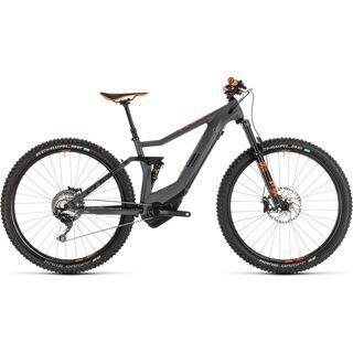 Cube Stereo Hybrid 120 HPC TM 500 Kiox 29 2019, grey´n´orange - E-Bike