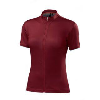 Specialized Women's RBX Comp Jersey SS, burgundy - Radtrikot