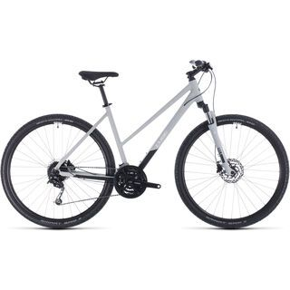 Cube Nature Pro Trapeze 2020, grey´n´white - Fitnessbike