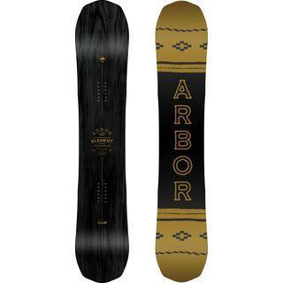 Arbor Element Black Rocker Mid Wide 2019 - Snowboard
