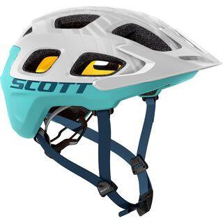 Scott Vivo Plus Helmet, white/blue - Fahrradhelm