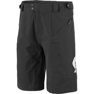Scott Endurance LS/Fit w/Pad Shorts, black/white - Radhose