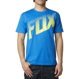 Fox Dirt Alert SS Tee, blue - T-Shirt