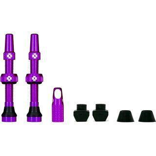 Muc-Off Tubeless Presta Valve - 44 mm purple