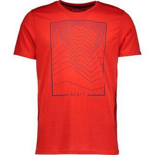 Scott Trail MTN DRI 60 S/SL Shirt, fiery red - Radtrikot
