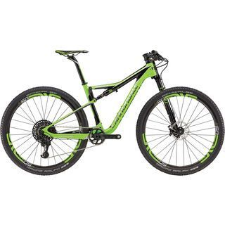 Cannondale Scalpel-Si Team 27.5 2017, bz green/black/chrome - Mountainbike
