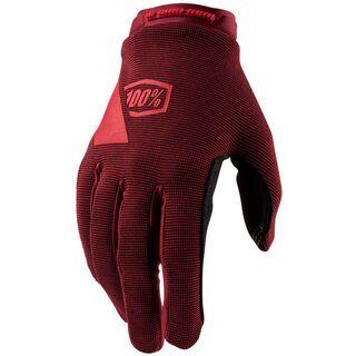 100% Ridecamp Women's Glove brick