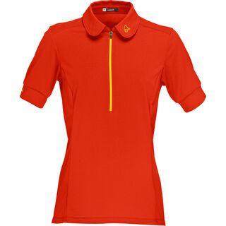 Norrona fjørå equaliser lightweight T-Shirt, adrenalin - Radtrikot