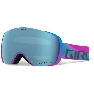 Giro Contact inkl. WS, viva la vivid/Lens: vivid royal - Skibrille