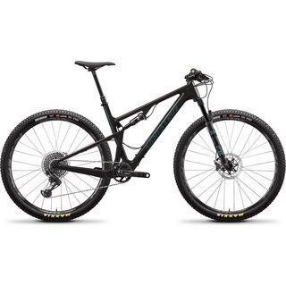 Santa Cruz Blur CC X01 TR 2020, carbon/aquarius green - Mountainbike
