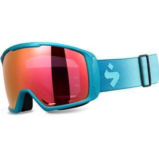 Sweet Protection Clockwork MAX RIG Reflect, matte aqua/Lens: RIG topaz - Skibrille
