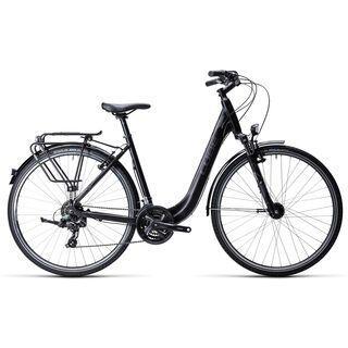 Cube Touring Easy Entry 2015, black grey white - Trekkingrad
