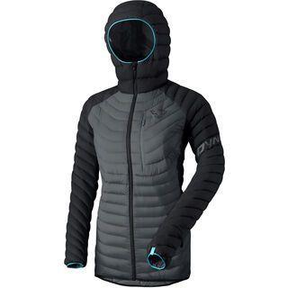 Dynafit Radical Down Women Hooded Jacket, black out - Daunenjacke