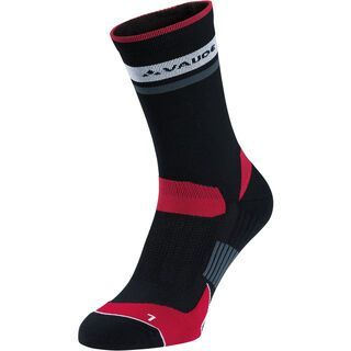Vaude Bike Socks Mid, black - Radsocken
