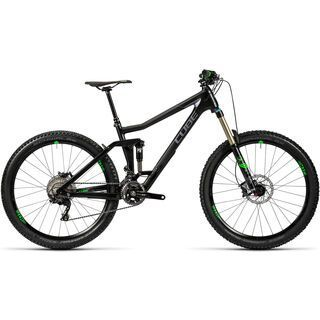 Cube Stereo 160 C:62 Race 27.5 2016, carbon´n´green - Mountainbike