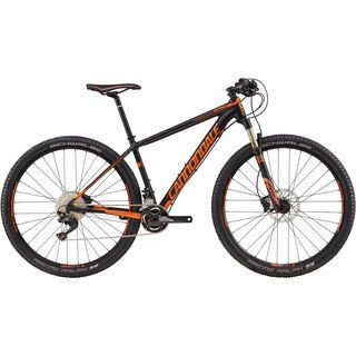 Cannondale F-SI 2 27.5 2017, black/hazard orange - Mountainbike