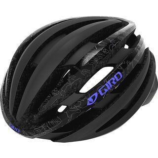Giro Ember MIPS, matte black floral - Fahrradhelm