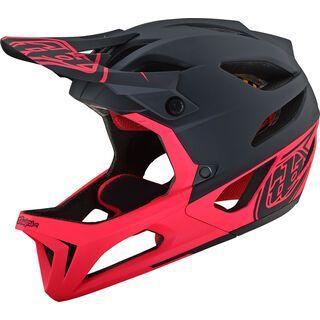 TroyLee Designs Stage Stealth Helmet MIPS, black/pink - Fahrradhelm