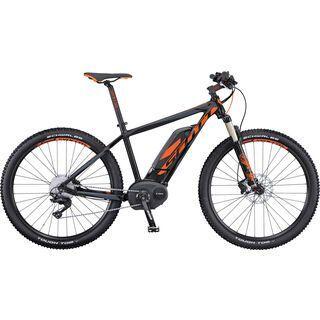 Scott E-Aspect 710 2016, black/anthracite/orange - E-Bike
