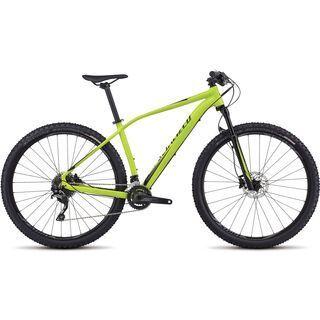 Specialized Rockhopper Expert 29 2017, hy green/black - Mountainbike