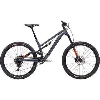 Kona Process 153 SE 2018, charcoal/black/orange - Mountainbike