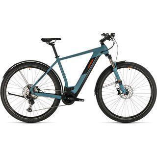 Cube Cross Hybrid Race Allroad 625 2020, blue´n´orange - E-Bike
