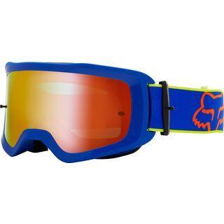 Fox Main Oktiv Goggle Spark, blue/Lens: spark mir lex - MX Brille