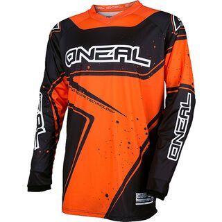ONeal Element Jersey Racewear, black/orange - Radtrikot