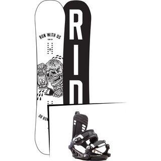Set: Ride Burnout 2017 + K2 Cinch CTX (1728771S)