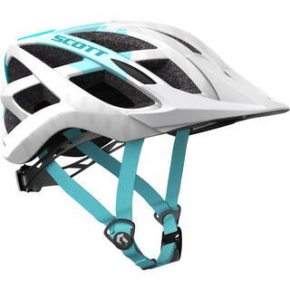 Scott Spunto Helmet, white/blue - Fahrradhelm
