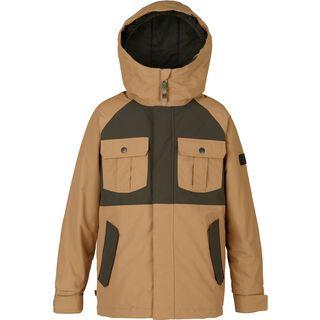 Burton Boys Fray Jacket, kelp/forest night - Snowboardjacke