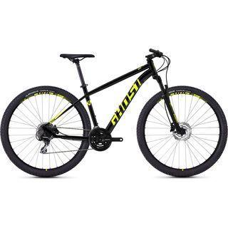 Ghost Kato 3.9 AL 2018, black/neon yellow - Mountainbike