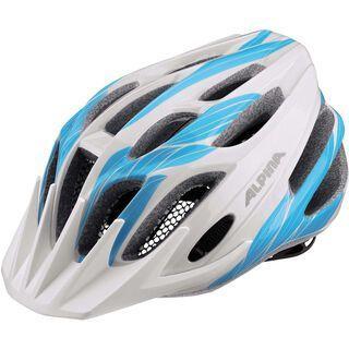 Alpina FB Junior 2.0, white cyan - Fahrradhelm