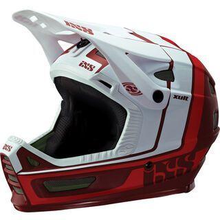 IXS Xult, night red/white - Fahrradhelm