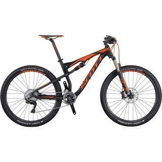 Scott Spark 740 2016, black/orange - Mountainbike