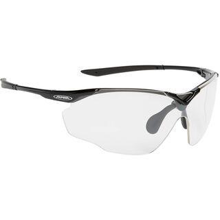 Alpina Splinter Shield C+, black/Lens: ceramic+ clear - Sportbrille