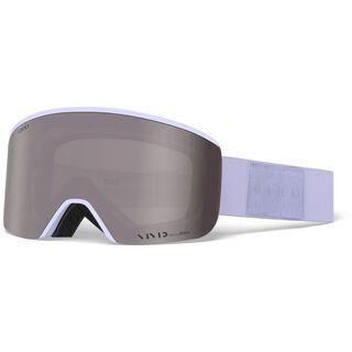 Giro Ella inkl. WS, fluff purple mono/Lens: vivid onyx - Skibrille