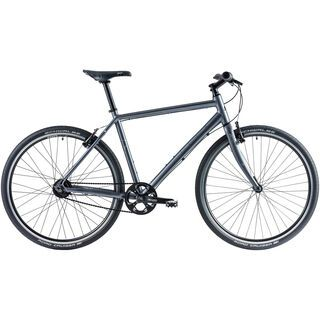 Cube Hyde Pro 2014, dark grey - Urbanbike