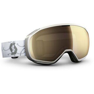 Scott Fix, white silver/ls bronze chrome - Skibrille
