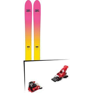 Set: DPS Skis Yvette 112 RP2 Foundation 2018 + Tyrolia Attack² 16 GW red
