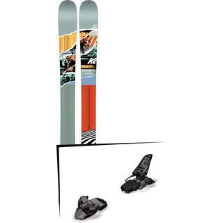 Set: K2 SKI Shreditor 100 JR 2017 + Marker Squire 11 (1685469)