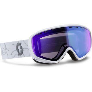 Scott Dana, white silver/illuminator blue - Skibrille
